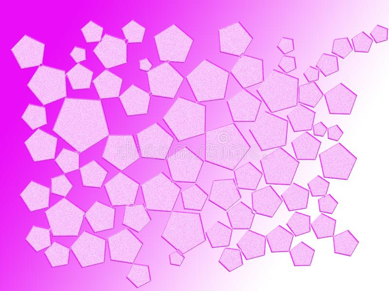 Very beautiful background of pink with polygons stock photos