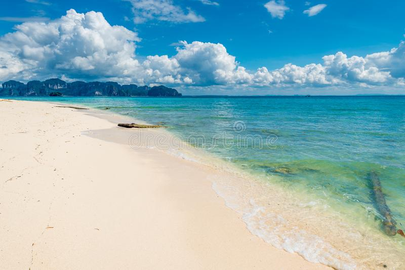 very beautiful landscape photographed from Poda Island, view of royalty free stock image