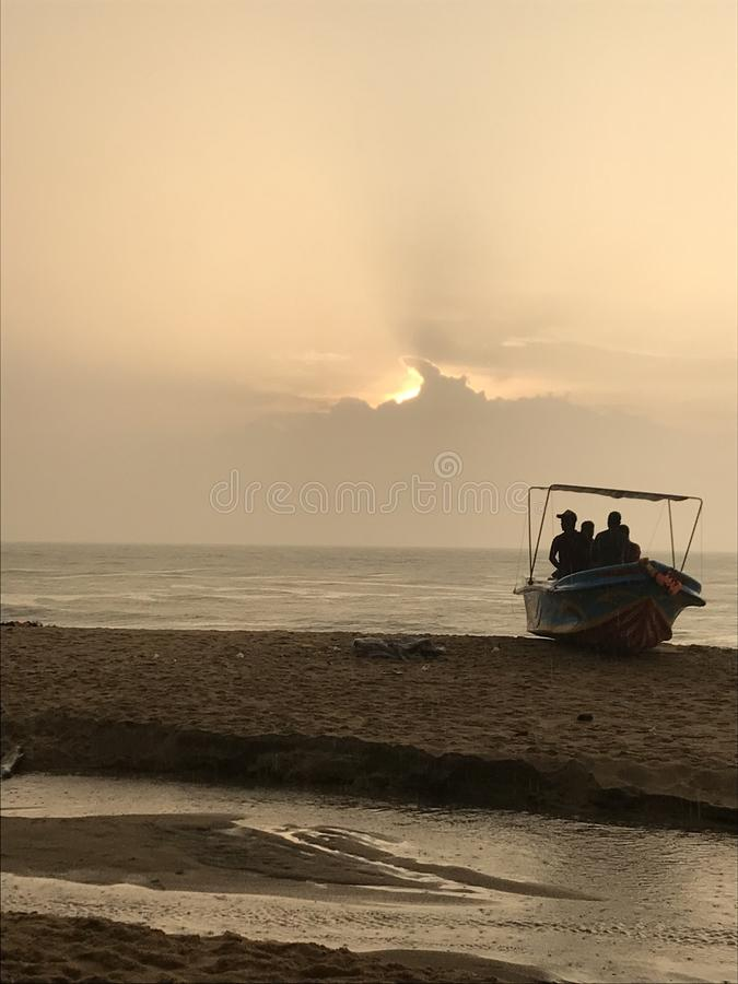 Beach side in sri lanka stock photos
