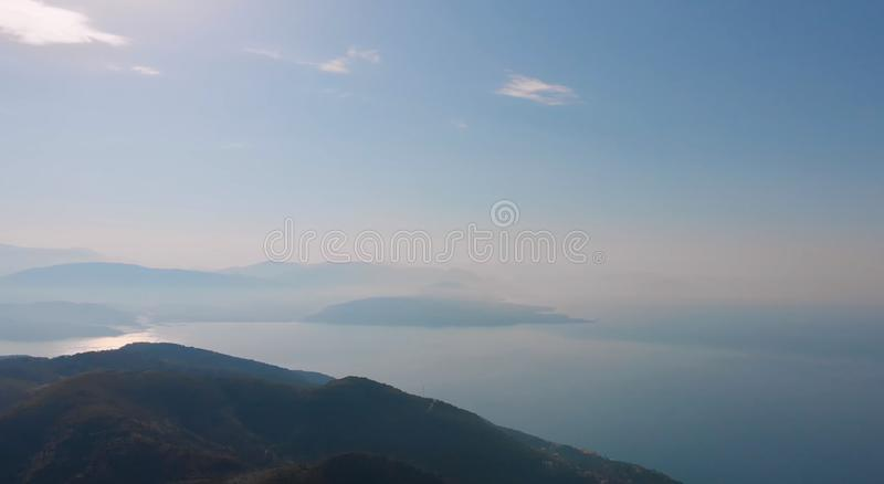 A very beautiful place to travel. Here in the photo we see a very beautiful area for traveling on a cruise royalty free stock photography