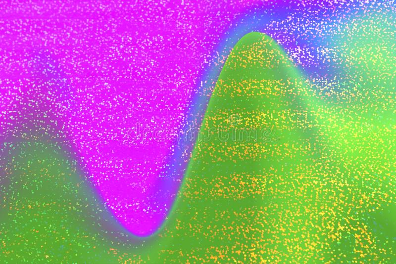 Very beautiful rainbow texture. Holographic Foil. stock images