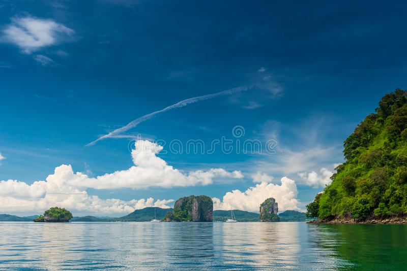 very beautiful views of nature in Thailand royalty free stock photo
