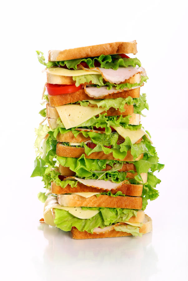 Free Very Big Sandwich Stock Image - 20364971