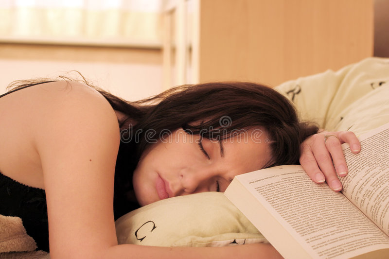 Very Boring Book royalty free stock images