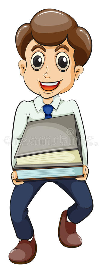 Download A very busy businessman stock illustration. Illustration of fashion - 33615117
