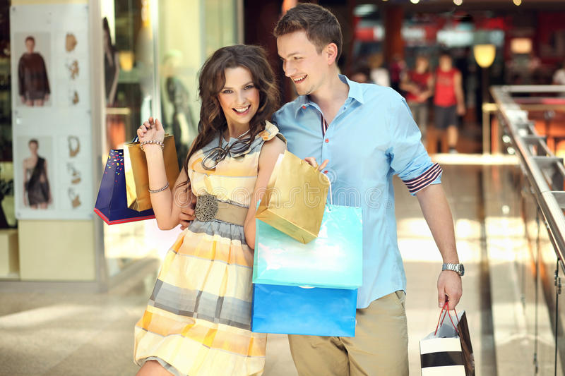 Download Very cheerful woman stock image. Image of mall, commercial - 20163607