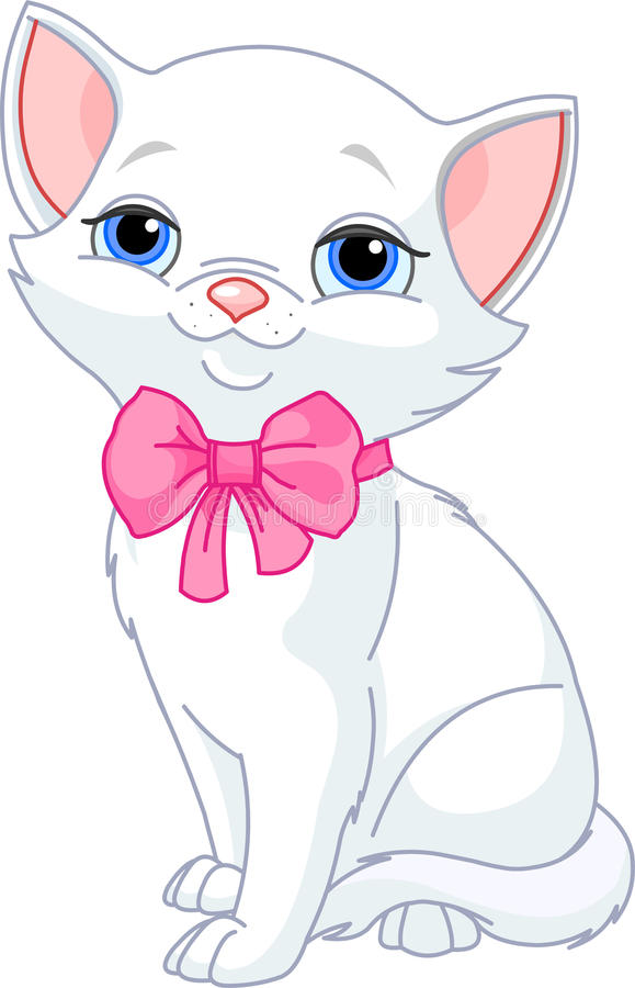 Download Very Cute White Cat Stock Photography - Image: 15311842