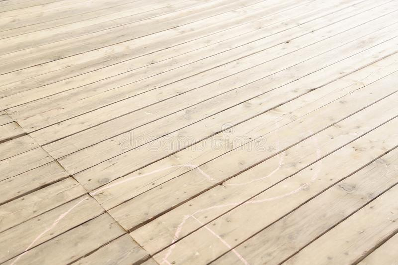 Very equal  wooden floor from wooden boards stock image