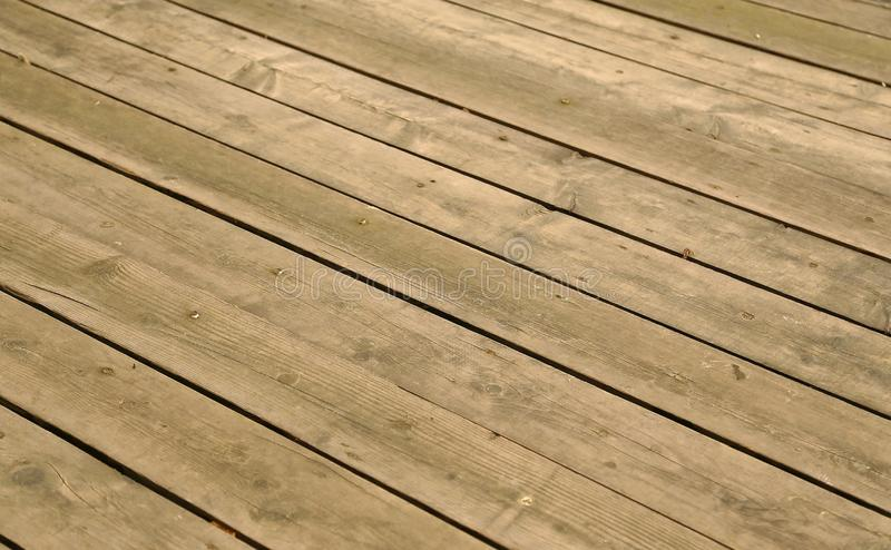Very equal  wooden floor from wooden boards royalty free stock photos