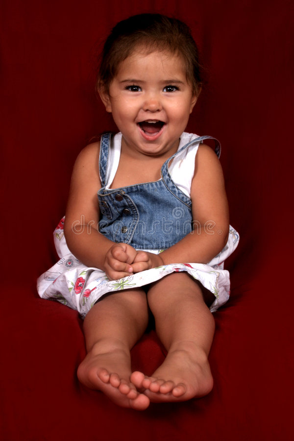 SO Very Happy. Beautiful, young happy Child stock images