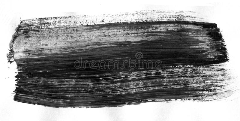 VERY HIGHT resolution. Abstract ink background. Marble style. Black and white paint stroke texture. Macro image of royalty free illustration