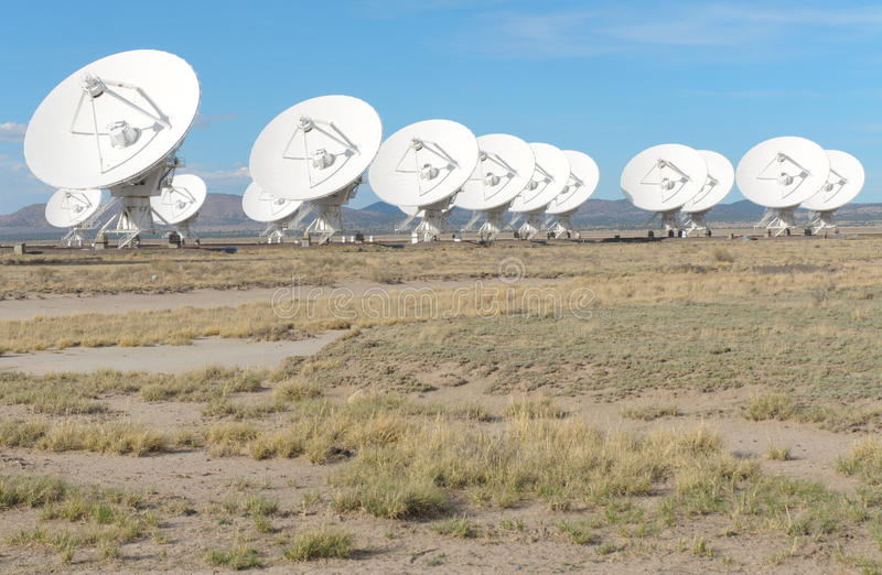 Download Very Large Array stock image. Image of mexico, terrestrial - 21619141