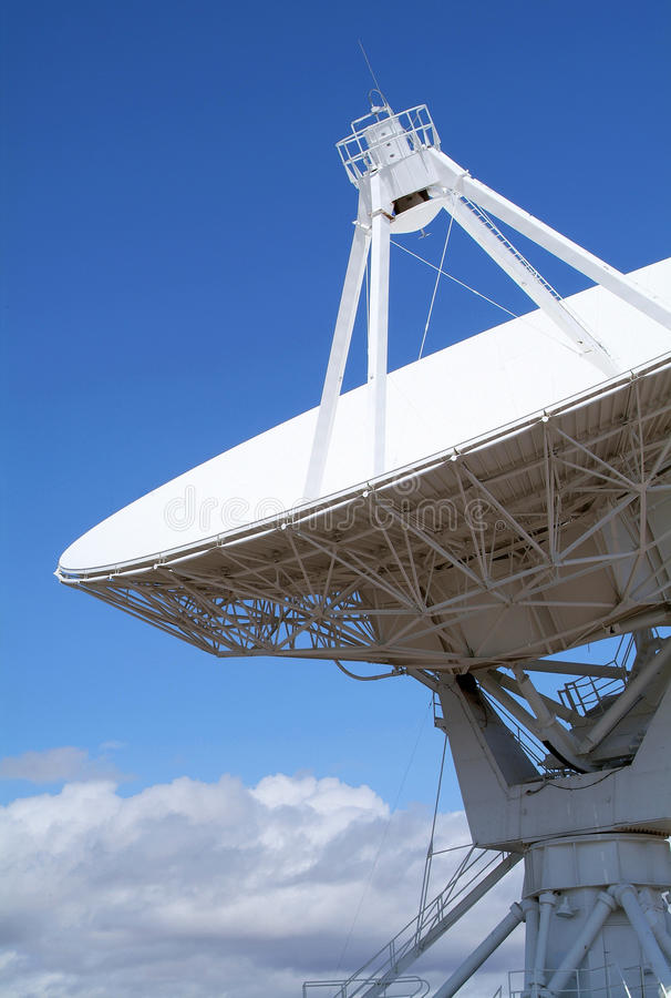 Very Large Array. Landscape of Very Large Array of Radio Telescopes in Magdalena, New Mexico, USA royalty free stock image