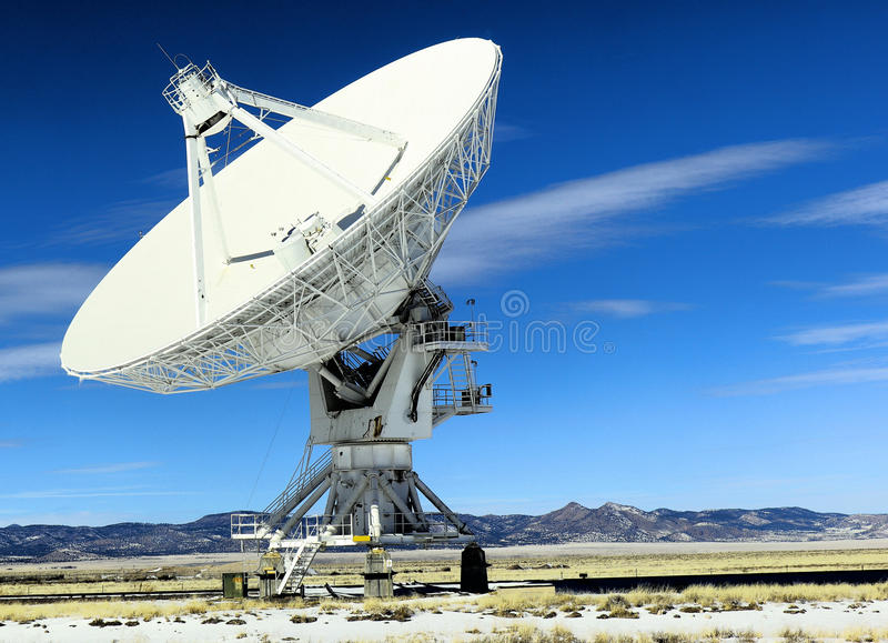 Very Large Array. The Very Large Array in New Mexico stock photo