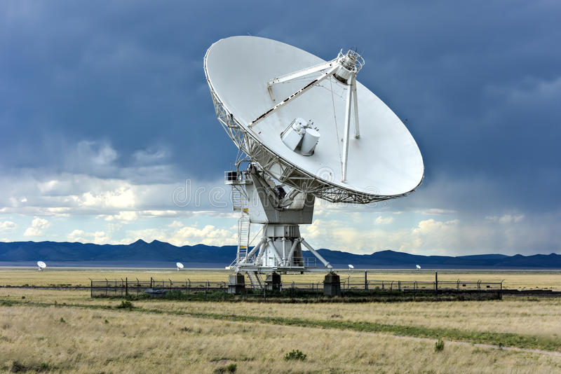 Very Large Array - New Mexico stock photo
