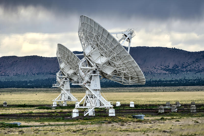 Very Large Array - New Mexico stock photos