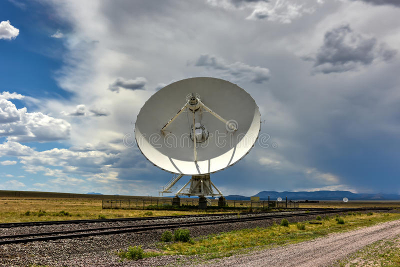 Very Large Array - New Mexico. The Karl G. Jansky Very Large Array (VLA) is a radio astronomy observatory located on the Plains of San Agustin in New Mexico stock photos