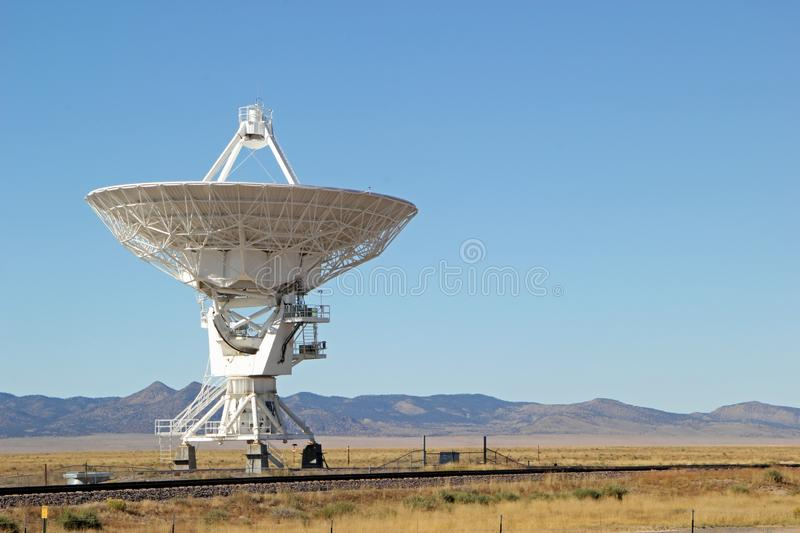 Very Large Array observatory in New Mexico royalty free stock image