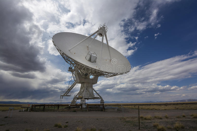 Very Large Array. Radio telescopes at the Karl G. Jansky Very Large Array west of Socorro, New Mexico. The Very Large Array has been featured in the movie royalty free stock photos