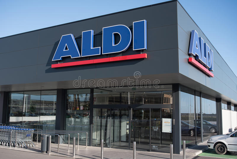 Very New Aldi Marked In Spain Editorial Image Image Of Chain