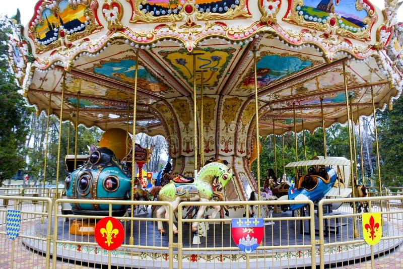 Very nice carousel stock photo