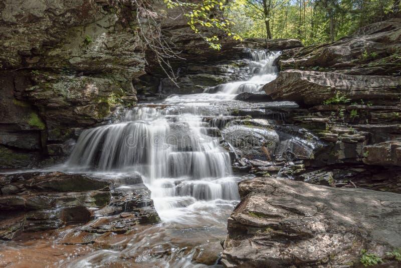 Garden Creek Falls, Fredericton, New Brunswick, Canada royalty free stock images