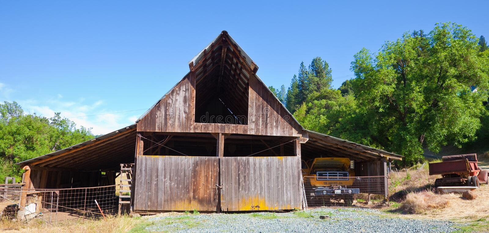 Download Very Old Barn stock image. Image of wood, nature, sutter - 16772561