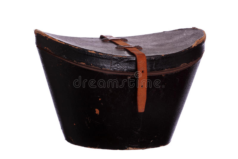 Very old box for hat royalty free stock photo