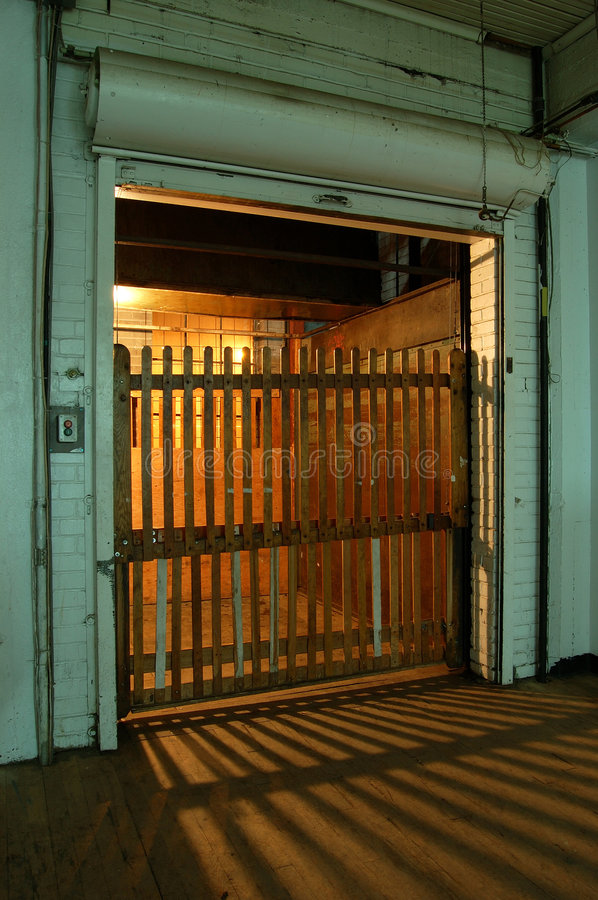 Download Very old elevator stock photo. Image of door, commercial - 467616