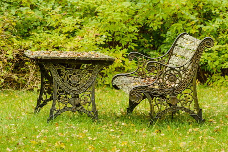 Very old furniture royalty free stock photos