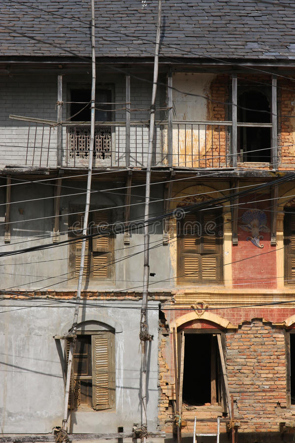 Download Very old house in Bandipur stock photo. Image of cultural - 24123618