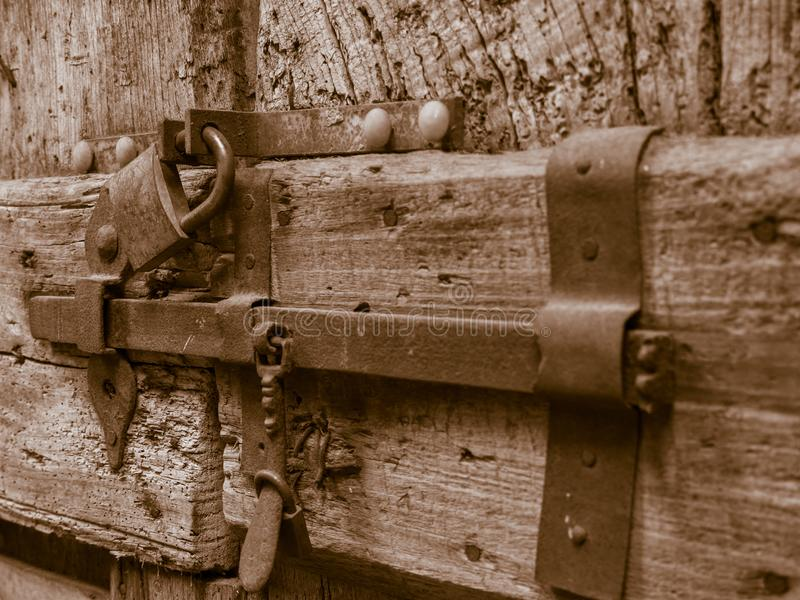 A very old lock stock photo