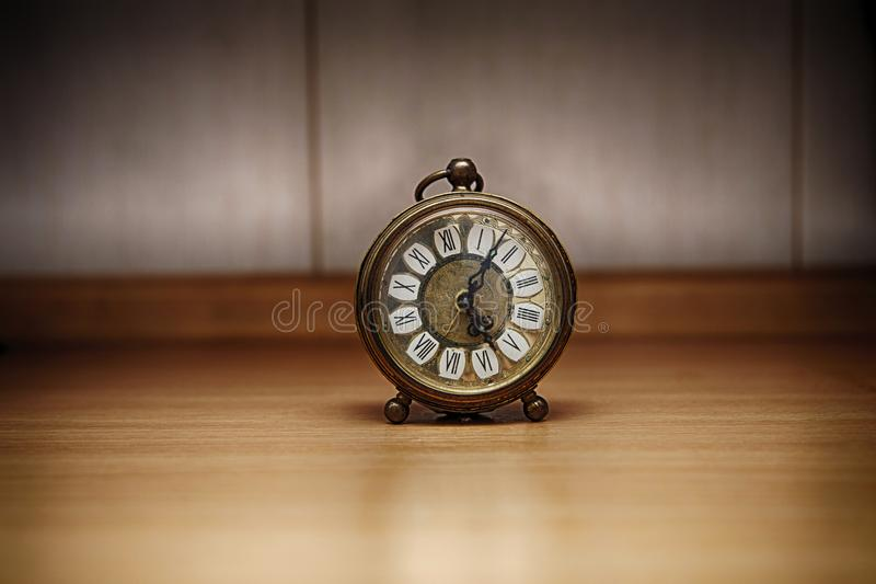 old metal clock royalty free stock image