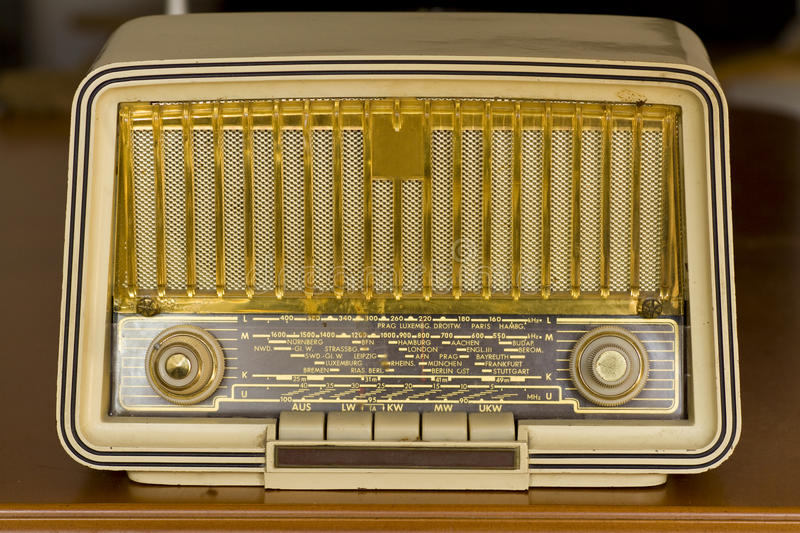 Download Very Old Radio. Vintage Radio Stock Image - Image: 16483071