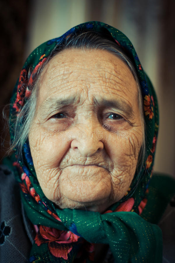 Free Very Old Woman Royalty Free Stock Image - 29652246