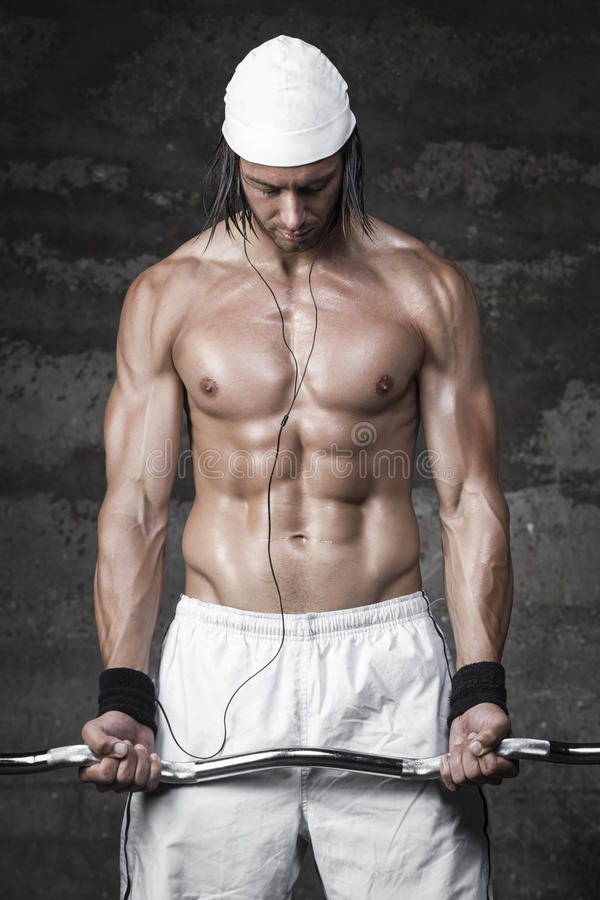 Download Very powerful bodybuilder stock photo. Image of 35, model - 33264094