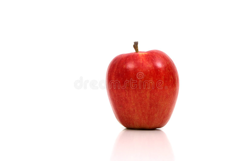 Very Red Apple stock images
