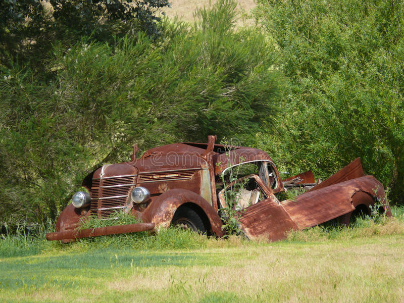 Download Very Rusty Car. Royalty Free Stock Photography - Image: 26816147