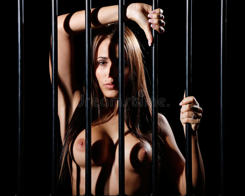 Locked up behind bars what phrase