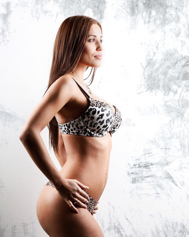 Download Very woman in lingerie stock photo. Image of female, sensuality - 31684254