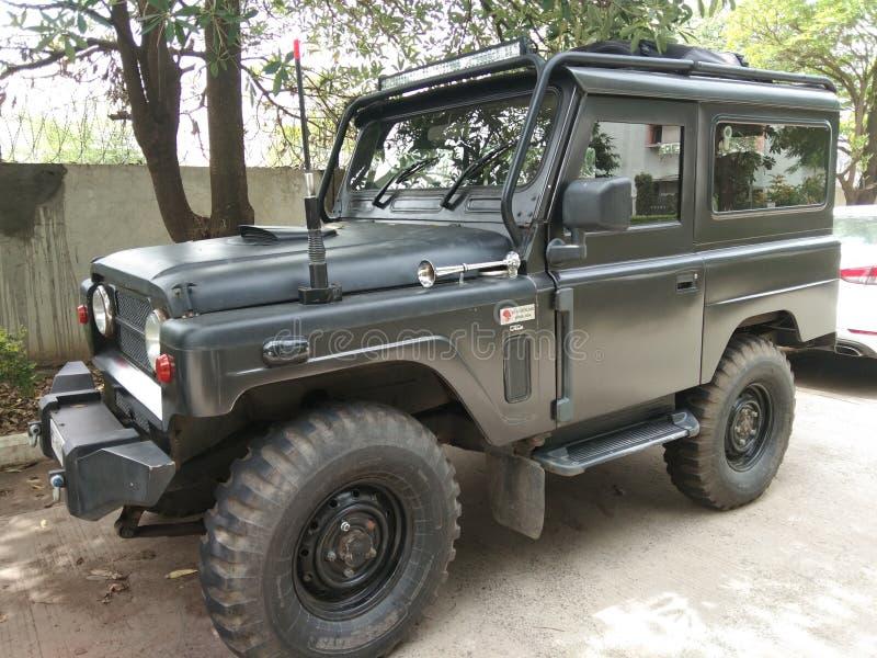 very speed jeep royalty free stock photos