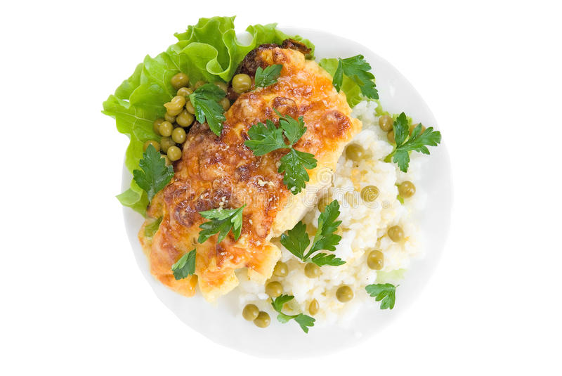 Download Very Tasty Chicken Dish Royalty Free Stock Photos - Image: 9454578