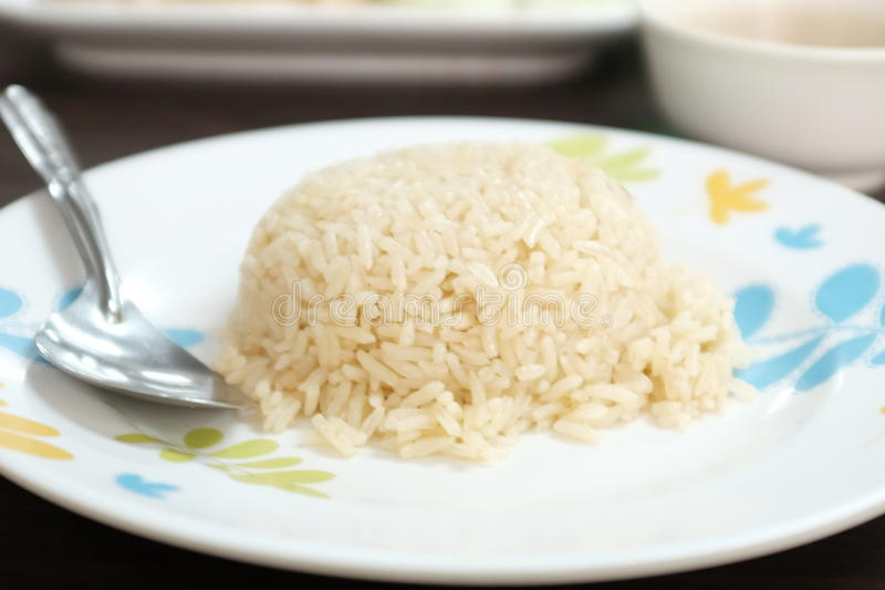 Very very very delicious rice royalty free stock images
