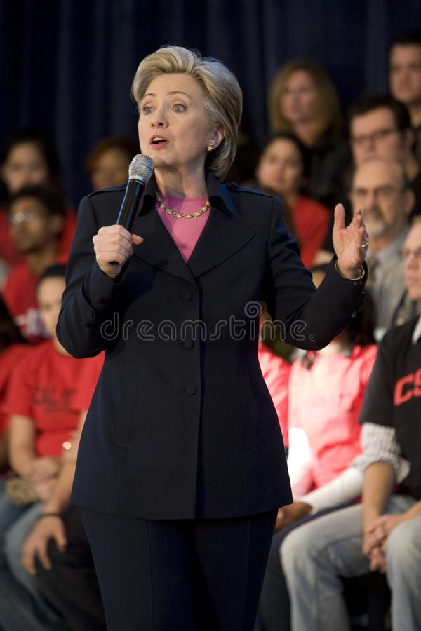 Verzameling 7 van Hillary Clinton royalty-vrije stock afbeelding