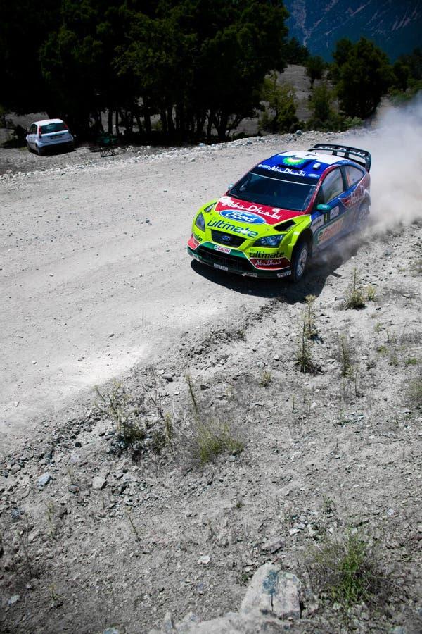 Verzameling van Turkije. WRC royalty-vrije stock afbeeldingen
