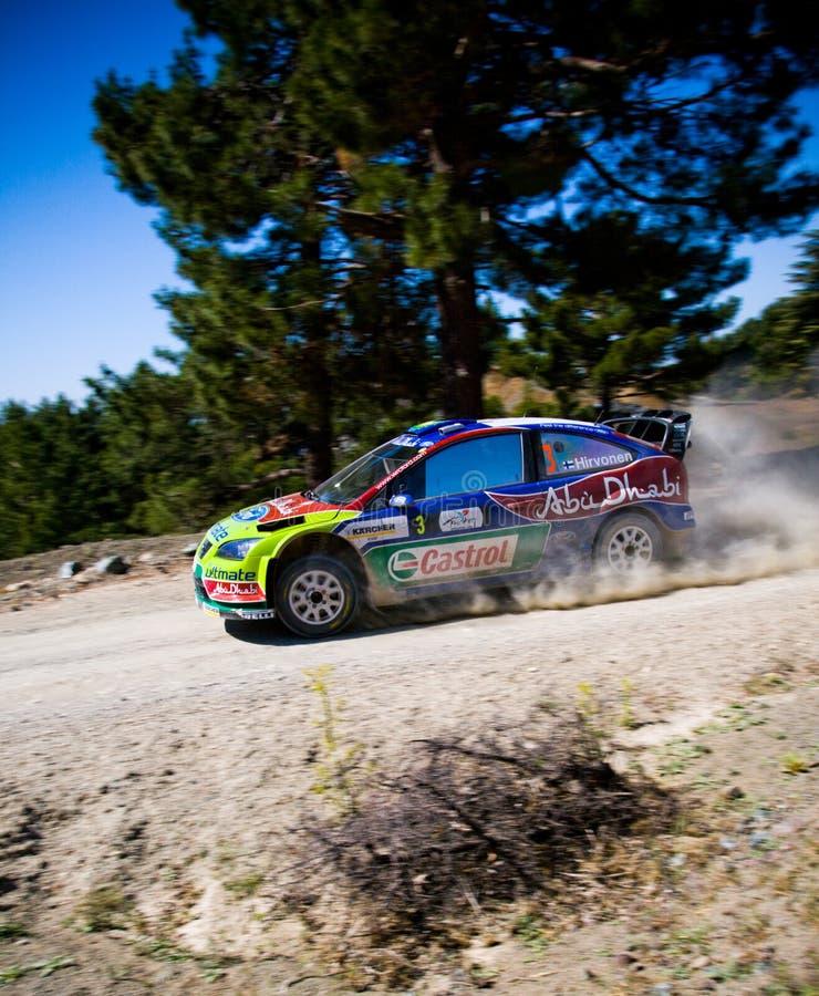 Verzameling van Turkije. WRC stock foto's