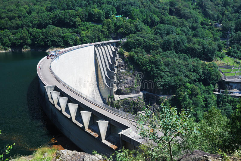 Download Verzasca Dam Near Locarno, Switzerland. Stock Image - Image: 22909745