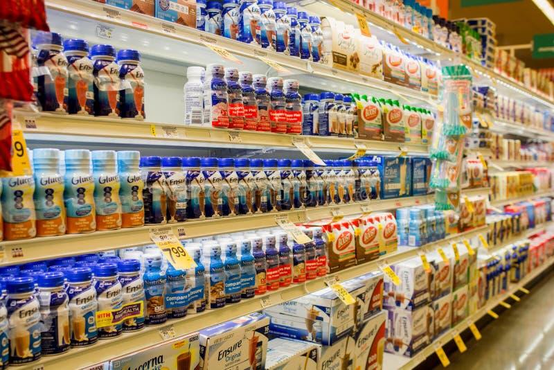 Verzeker voedingsschokken royalty-vrije stock fotografie