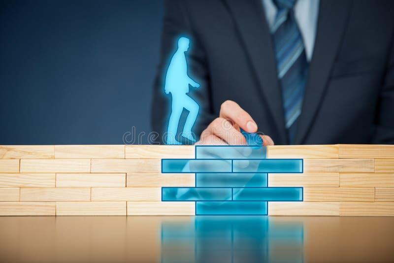 Verzekering en risicobeheer stock foto's