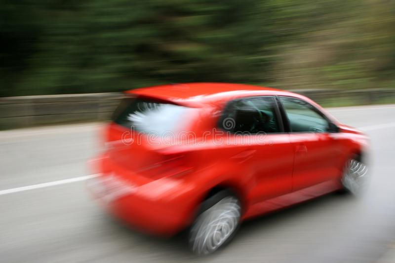 Verzendende auto royalty-vrije stock fotografie